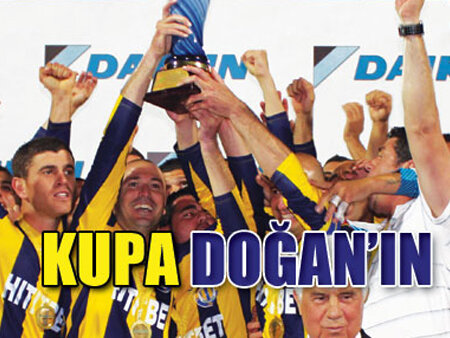 DAIKIN Kıbrıs Kupası'nı Doğan Türk Birliği aldı.