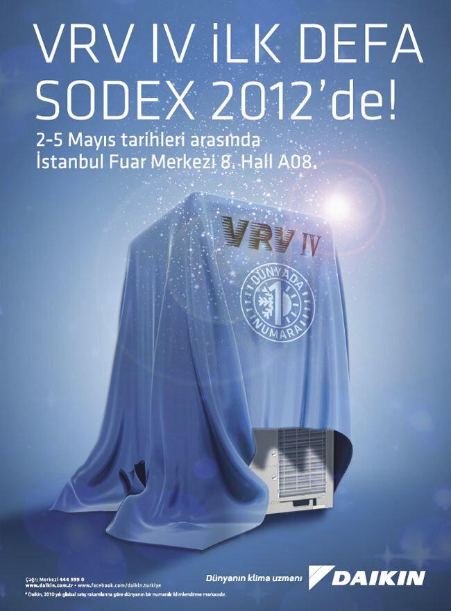 VRV IV İlk defa Sodex 2012'de!