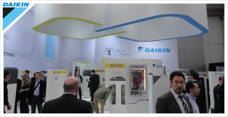 Isıtmada ilk 3'ü hedefleyen Daikin Frankfurt'ta gövde gösterisi yaptı