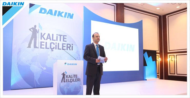 Daikin Türkiye iddialı hedeflerini servisleri ile paylaştı