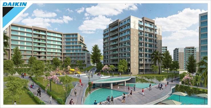Teknik Yapı, Evora İstanbul projesinde Daikin'i tercih etti