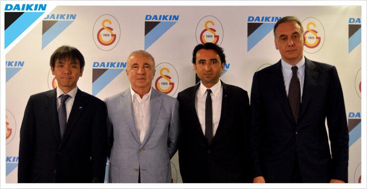 Galatasaray İle Daikin Türkiye Arasındaki Sponsorluk Anlaşması Yenilendi