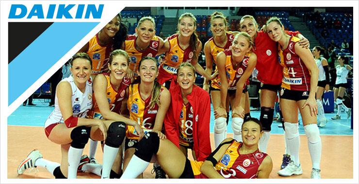 Dörtlü Final'de ev sahibi Galatasaray Daikin