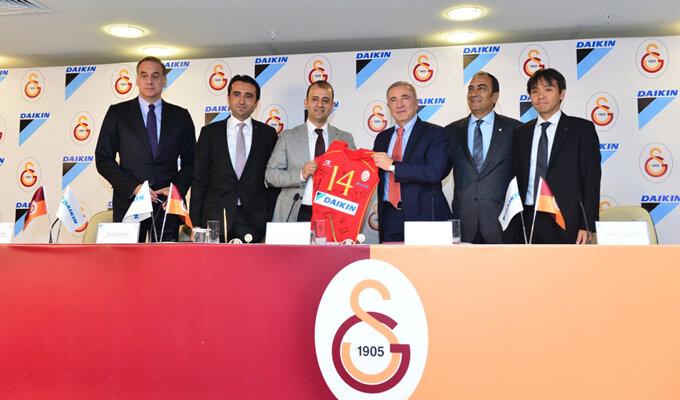 Galatasaray Bayan Voleybol Takımı'nın İsim Sponsoru Daikin Türkiye Oldu!
