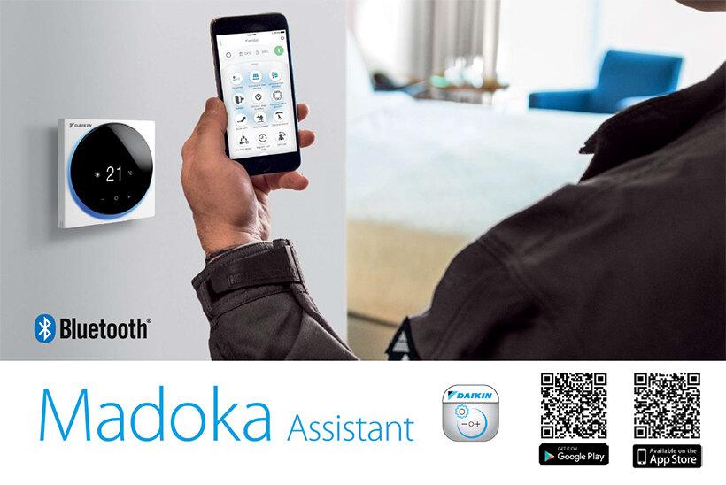 Daikin, 2018 IF Tasarım Ödülü'ne sahip yeni premium tasarımlı kullanıcı dostu 'Madoka' kumanda