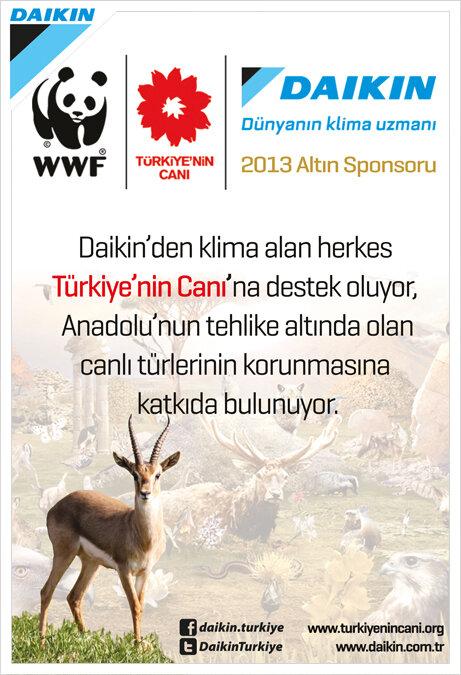 Daikin'den Klima alan herkes Türkiye'nin Canı'na destek oluyor.